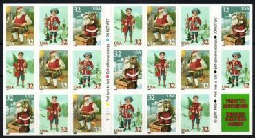 1995 Karácsony bélyegfüzet öntapadós MH 187
