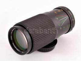 Sirius MC Auto Zoom tele objektív 80-200 mm f/3.9 Pentax K bajonettel, szép állapotban, hátsó védőkupakkal
