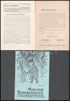 cca 1945 3 db cserkész hírlevél és nyomtatvány