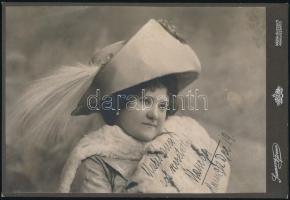 1912 Kassa, Szamossy Ferencz fényképész műtermében készült, keményhátú vintage fotó, 15x22 cm