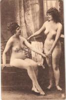 Erotic lesbian nude ladies. Largache Série 6. (EK)