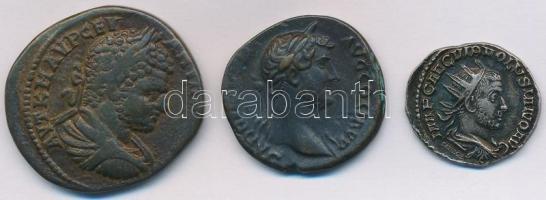 3xklf római érme másolat SANDOZ gyártói(?) jelzéssel T:2
