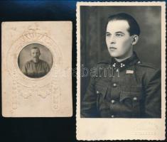 2 db katonákat ábrázoló fotó