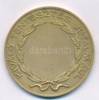 Berán Lajos (1882-1943) ~1900-1920. Kiváló Tenyésztés Jutalmául Br sport emlékérem. Szign.: Berán Lajos (45mm) T:1-
