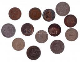 1893KB-1909KB 2f Br (6xklf) + 1894KB-1895KB 10f Ni (2x) + 1915. 10f alpakka + 1916-1920. 20f Fe (4xklf) T:2-3