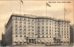 Boston (Massachusetts), the Copley Plaza, automobiles, (fl)