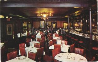 Boston (Massachusetts), Locke-Ober Café, interior, photo