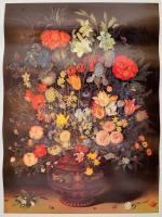 3 db virágos poszter 46x60 cm