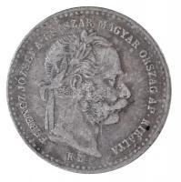 1869KB 10kr Ag Magyar Királyi Váltó Pénz T:2,2- patina Adamo M10.1
