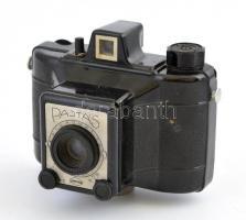 Gamma Pajtás fényképezőgép, Achromat 1:8/80 mm objektívvel, 6x6 cm filmformátum