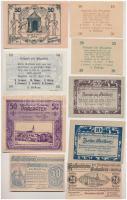 Ausztria ~1920. 24db-os vegyes szükségpénz tétel T:I-II Austria ~1920. 24pcs of mixed notgeld necessity notes C:UNC-XF