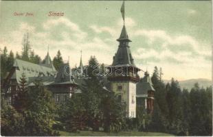 1913 Sinaia, Castel Peles / castle. Edit. J. Schwarzfeld