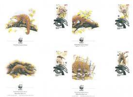1995 WWF Tobzoska Mi 795-798