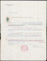 1938 Nagykanizsa, igazolás törvényes házasságról
