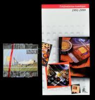 1992 MALÉV 120 egységes telefonkártya, bontatlan csomagolásban, 20 000 példányos + 1991-1999 Telefonkártya-katalógussal
