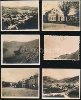 1933 Montenegro, 6 db vintage fotó, feliratozva, datálva, 5,5x8,3 cm és 7,1x9 cm között / 1933 Montenegro, 6 pcs of vinatge photos, with description and date, between 5,5x8,3 cm and 7,1x9 cm