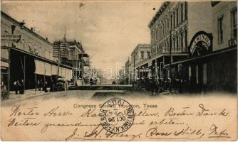 1903 Houston, Texas; Congress Street, Casino summer garden (EK)