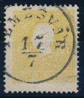 1858 2kr IIa, sárga / yellow TEMESVÁR Certificate: Strakosch