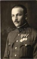 Drágói Szemes Vazul ezredes portréja / Portrait of a Hungarian (K.u.K.) colonel. photo (EK)