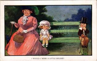 I would I were a little bolder! / Child humour. No. 51635. (EK)