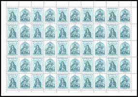 1992 Karácson teljes ív (9.000) / Mi 4201 complete sheet