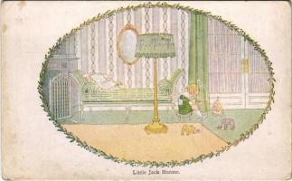 Little Jack Horner. Our Old Nursery Rhymes. Augener LTD. London s: Henriette Willbeek le Mair (fl)
