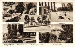 Fonyód, Dreschler szálló, vasútállomás, Fő út