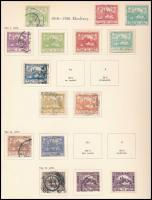 Csehszlovákia gyűjtemény kezdemény 1919-1938 előnyomott albumban / Czechoslovakia starter collection in album