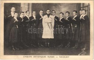 Choeurs Artistiques Russes - Nicolsky / Russian Artistic Choir