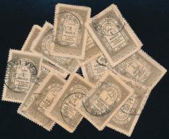 44 db bosnyák okmánybélyeg klf postai bélyegzésekkel, zacskóban