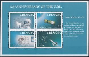 2000 UPU: Űrkutatás kisív Mi 4232-4235