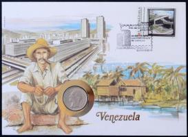 11db-os érmés boríték tétel, kisalakú zöld berakóban, benne: Új-Kaledónia, Costa Rica, Venezuela, Guatemala, Liberia, Sierra Leone, Görögország, Jugoszlávia forgalmi érmés borítékok, valamint 2db svájci rappen érmés boríték és Libéria 1993. 1$ Cu-Ni Willy Brandt érmés boríték T:1