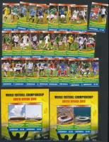 2010 Labdarúgó-világbajnokság, Dél-Afrika sor Mi 6245-6248 + blokksor Mi 785-786
