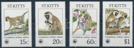 1986 WWF: Majmok sor Mi 184-187