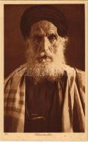 Vieux Rabbin / Old Rabbi. Judaica (from postcard bookelt)