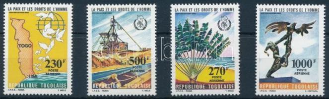 1985 Béke és emberi jogok sor Mi 1846-1849