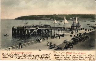Cowes (Isle of Wight), The Esplanade and Pier (EK)