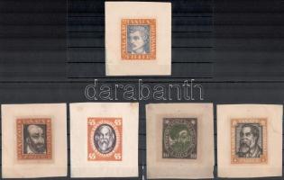 1919 Magyar Tanácsköztársasági arcképek 5 klf essay