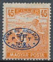 Debrecen 1919 Arató 45f, Bodor vizsgálójellel (6.000)