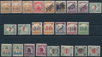 1919 24 klf bélyeg Bodor vizsgálójellel (12.675)