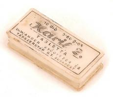 Dr. Wander Karil 2 tablettás doboz, 5x2 cm