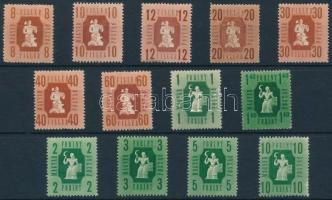 1946 Forint-fillér sor (3.500)