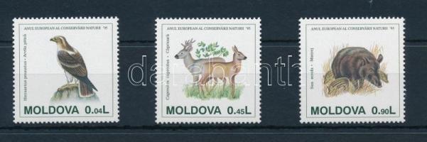European Nature Conservation Year set, Európai Természetvédelmi Év sor