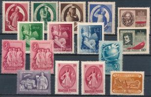 1946-1949 Kis összeállítás stecklapon
