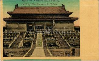 Beijing, Peking; Haus im Kaiserpalast / Part of the Imperial Palace, Emperors Palace (fl)