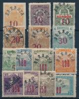 Baranya II. 1919 14 db bélyeg Bodor vizsgálójellel (**4.600)