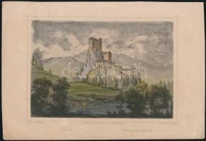 cca 1860 Ludwig Rohbock (1820-1883): Árva vára, színes acélmetszet, papír, kissé foltos, 10,5x15,5 cm