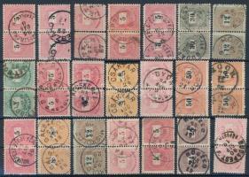 21 Krajcáros pár közte szép bélyegzések