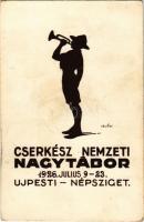 1926 Cserkész Nemzeti Nagy Tábor az Újpesti Népszigeten / Hungarian National Boy Scout Camping Festival s: Mátis (fl)