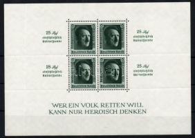 1937 Birodalmi pártnap blokk Mi 11